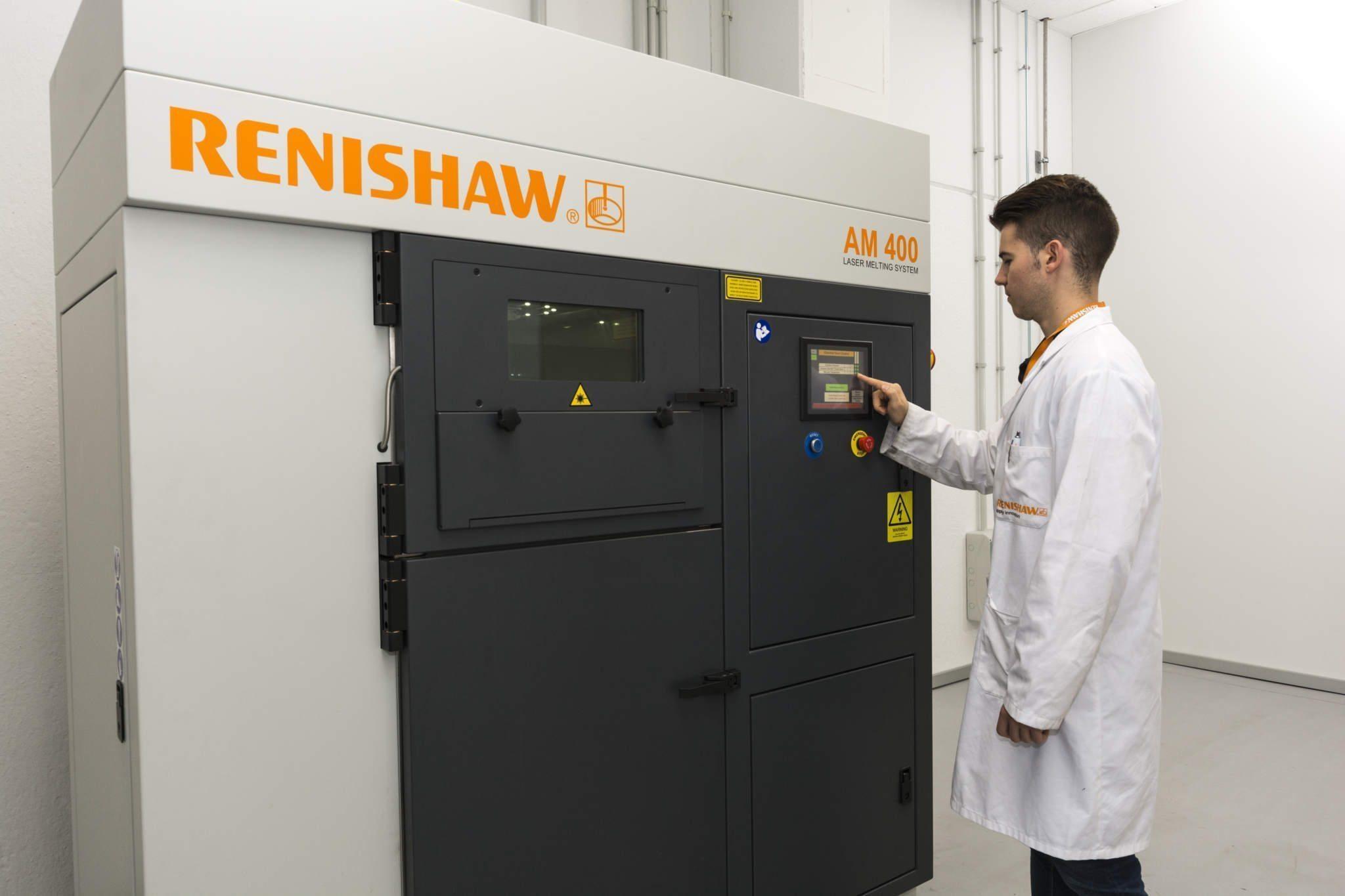 Renishaw Metal Printing
