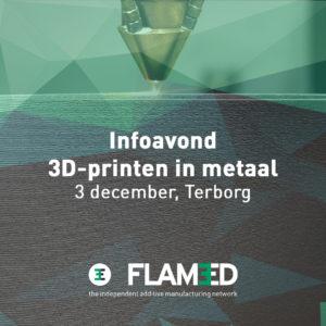 Infoavond 3D-printen in metaal