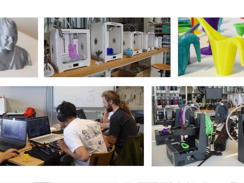 Arteveldehogeschool Masterclass 3D-printen