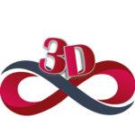 3D Infinity logo