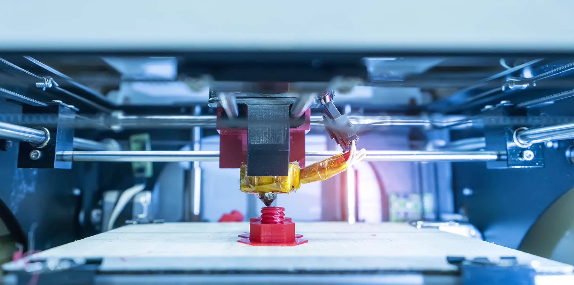 3D-printer printing